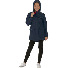 Regatta Treasure II Jacket Girls Waterproof navy